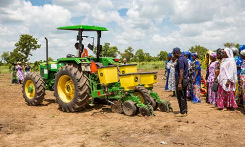 Agriculture mechanization