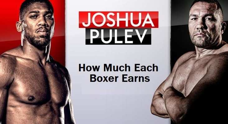 Anthony Joshua and Pulev Earns for fighting