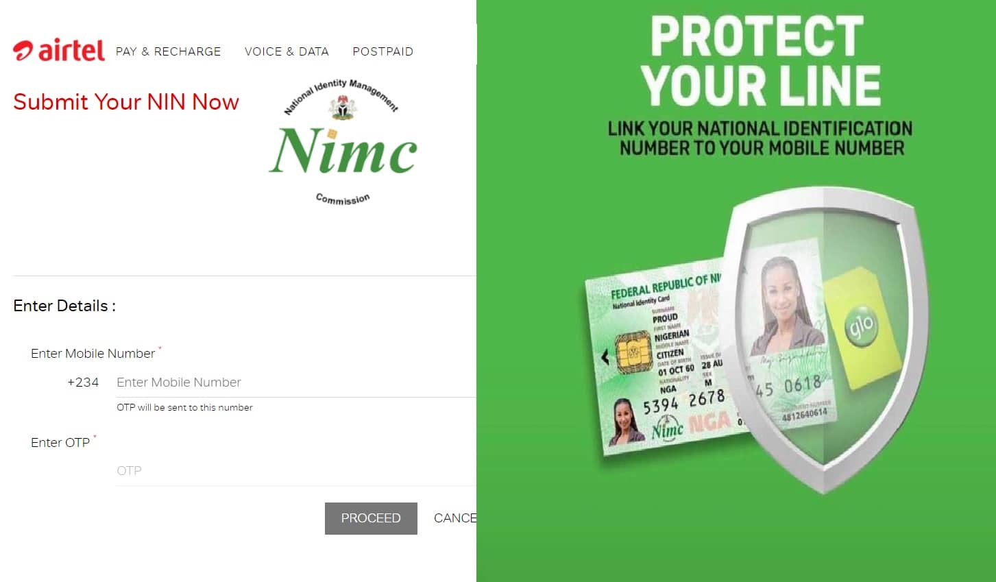 How to Link NIN to Phone Number on Airtel and Glo Network - Nigeria  Business Information