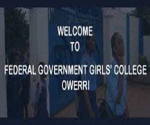 Federal Government Girls' College, Owerri, Imo State