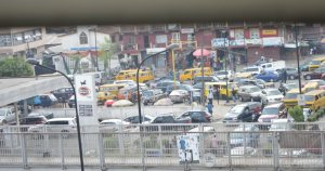 In Photos: Long Queues Take Over Lagos As Fuel Scarcity Continues