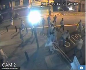 Wedding Reception Turns To Violent Street Fight As Angry Guests Trade Heavy Blows (Photos)