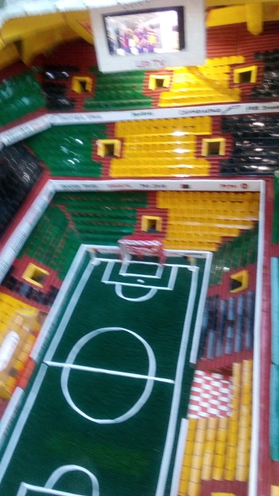 A Well Equipped Stadium Prototype Constructed By 14-Year-Old Boy In Aba