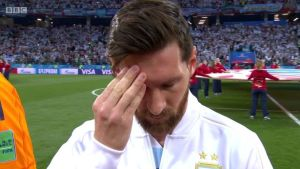Did Lionel Messi Predict Aregntina's Defeat? See What Happened Before Match (Photo)
