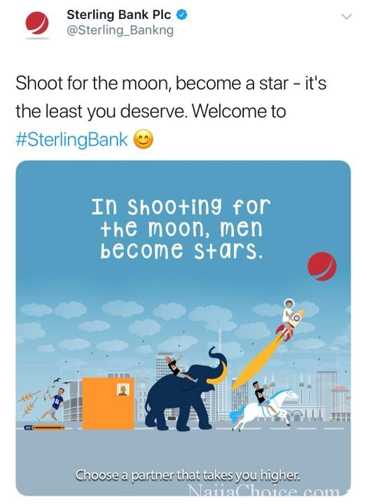Ow; Sterling Bank Shades Access Bank, GTBank, Union Bank And First Bank