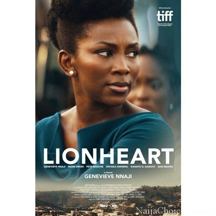 See The Official Poster for Genevieve Nnaji's 'Lion Heart'