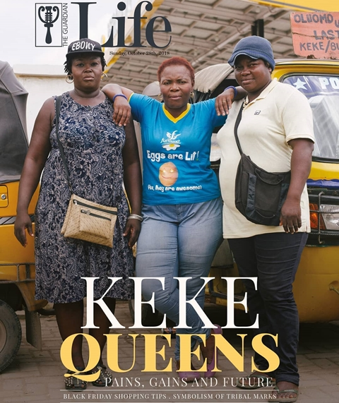 Pains, Gains & Future: Keke Napep Queens Share Their Stories As They Cover Guardian Life