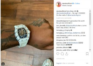 Davido Receives Expensive Gifts In Advance For His Birthday Gifts