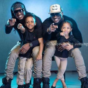 Peter Okoye's Wife, Lola Pens Heartfelt Birthday Message To Her Husband And His Twin, Paul