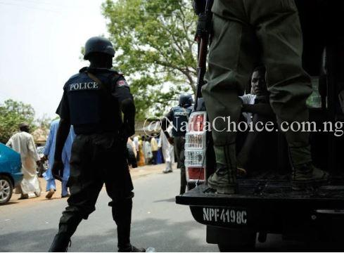 Police Parades Arrested IPOB/MASSOB Members In Abia (Full List)