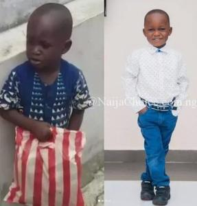 Taju, The Little Boy From Ibadan Looks Very Different In New Photos Four Months After