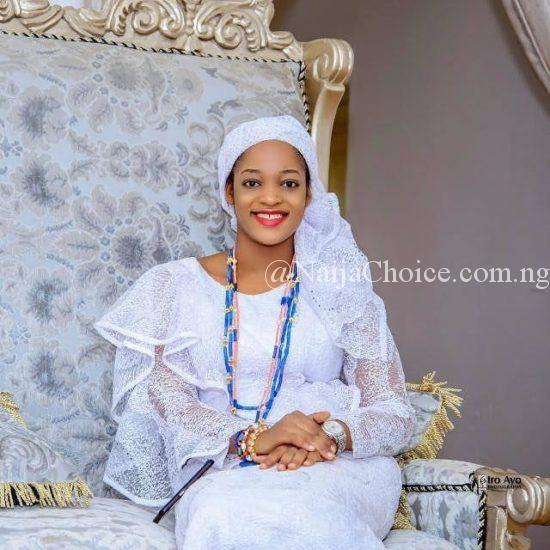 This Photo Of Ooni Of Ife's New Wife, Naomi Oluwaseyi Is Breaking The Internet!
