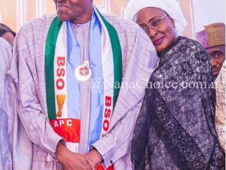 So Admirable! Loved-up Photo Of President Buhari And Wife, Aisha, Melt Hearts Online