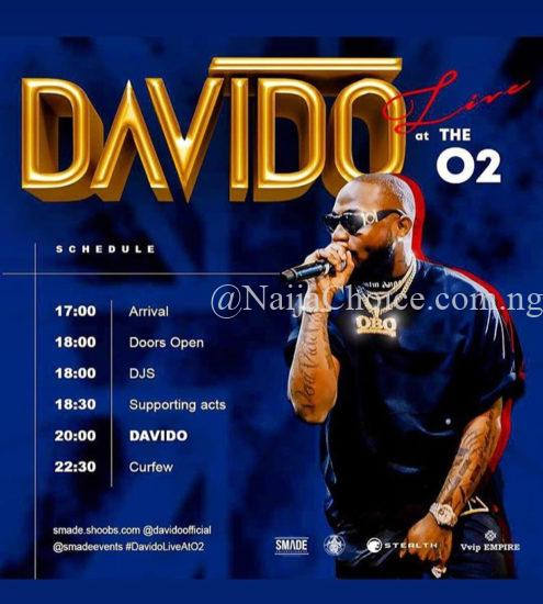 """""""I Talk am I Do am"""" – Davido brags after selling out 20,000 Capacity O2 Arena"""