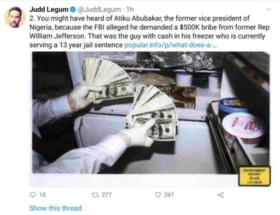 """How """"Atiku Bribed His Way Into America After 12 Years"""""""