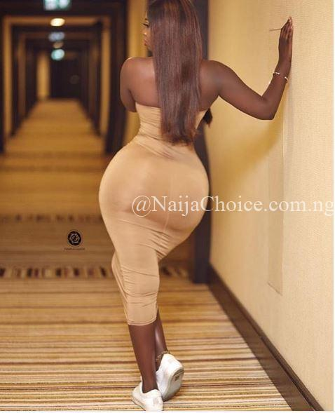 'Small Waist' Actress Princess Shyngle Drops Mouth-watering Photos Online