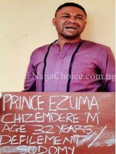 y' pastor, Chizemdere Ezuma arrested for infecting underage boys with HIV