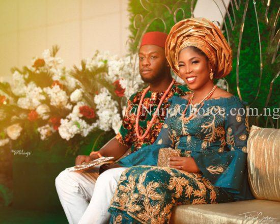 A  Lady Looking Like Tiwa Savage's Gets Married (Photos)