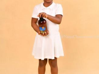 Davido's 4-Year Old Daughter Imade just launched an Organic Hair Care Product