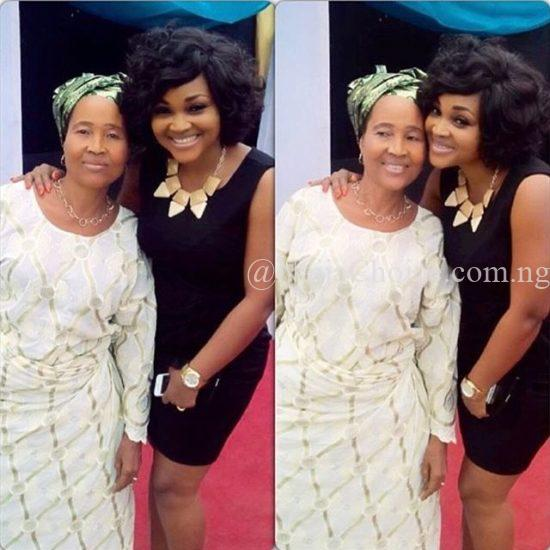 Mercy Aigbe And Her Mother Pictured Together