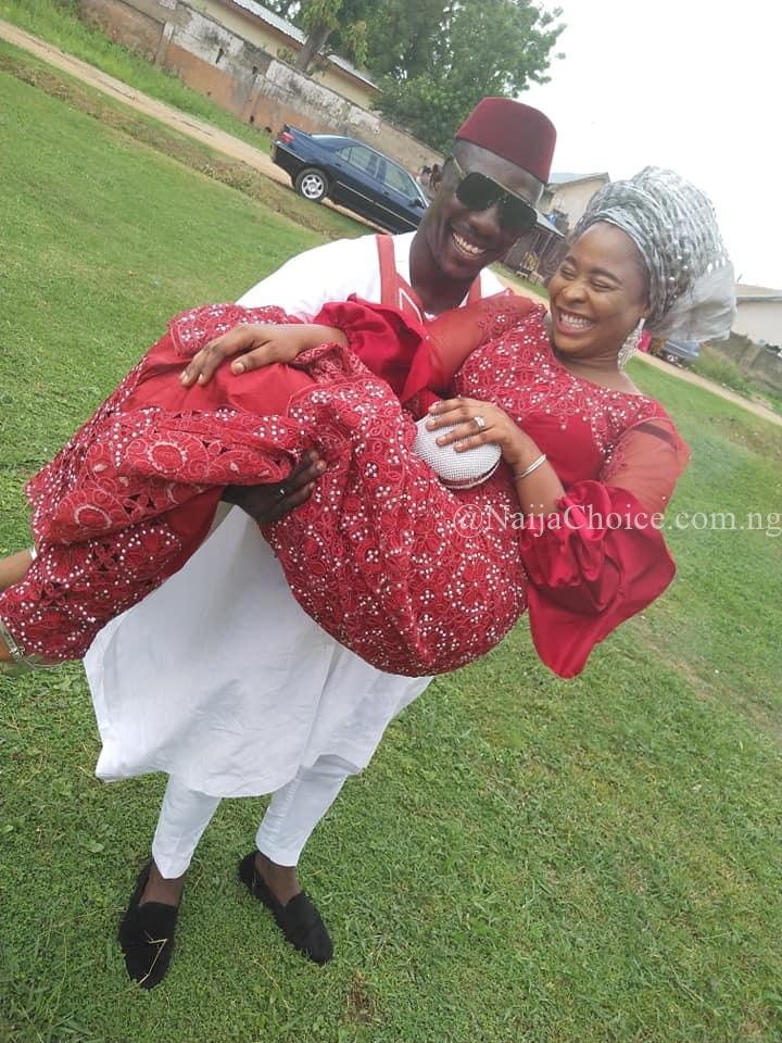 Man Who Makes A Fortune Selling Crayfish In Abuja Gets Married In Style (Photos)