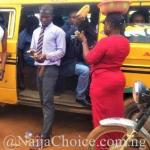 Corporate Lagos Conductor: The Best Dressed Danfo Conductor You've Ever Seen?