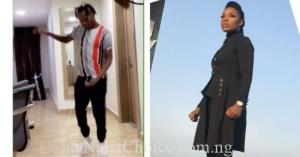 "Dance Queen, Kaffy Rubbishes Naira Marley's ""Immoral"" Soapy Dance"