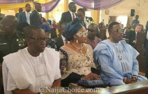 Anambra State First Lady Attends Church Service Wearing N1million Gucci Glasses (Photos)