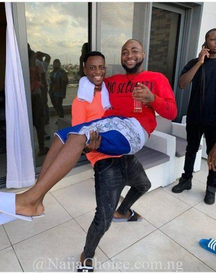 Davido Featured In First Comedy Skit With Sydneytalker