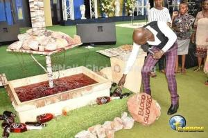DISGUSTING! Pastor Feeds His Church Members Millipede And Wine (Photos)