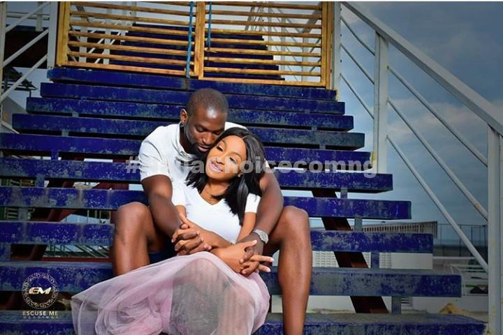 Excited Lady Sits On Top Of Her Man As He Does Push-Up In Stunning Pre-Wedding Photos