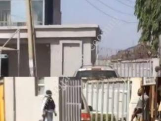 Armed Robbers Currently Trapped Inside First Bank Building In Abuja (Video)