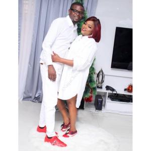 Funke Akindele, Husband And Twins Share Lovely Christmas Pictures