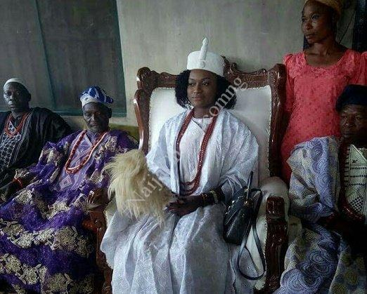 Meet Taiwo Agbona, The Young Lady 'Chosen By Oracle' To Become The 'King' Of Ondo Kingdom