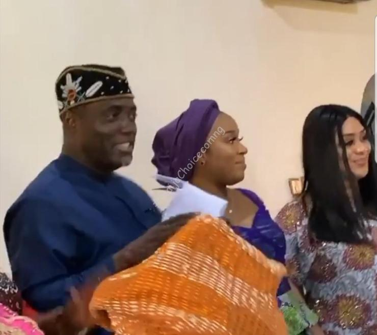 Photos From The Wedding Introduction Of Davido's Brother, Adewale Adeleke