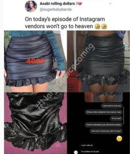 So Shocking: What A Woman Ordered From Online And What She Got (Photos)