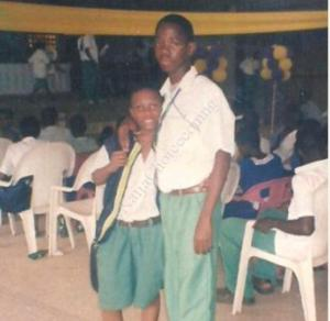 Throwback Photo Of Wizkid In Secondary School