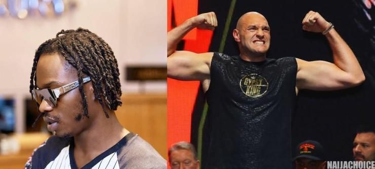 Video Of Naira Marley Hanging Out With Tyson Fury