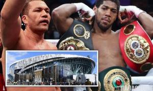 Anthony Joshua Set To Fight Kubrat Pulev At Tottenham Hotspur Stadium On June 20