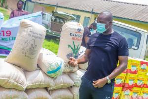 COVID-19: Akin Alabi Of Nairabet Provides Emergency Relief Package For His Constituents
