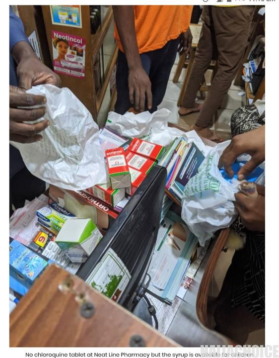 Nigerians Clearing Out Chloroquine From Stores After Trump's Comment