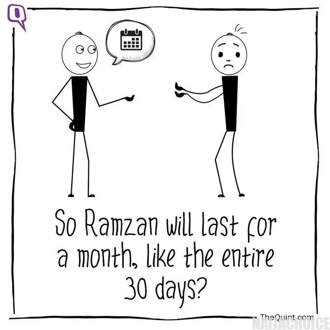 10 questions Muslims are always faced with during Ramadan