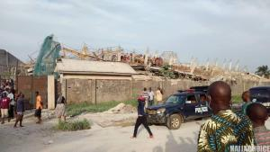 8 Storey Building Collapses In Owerri. 40 People Trapped (Graphic Pics)