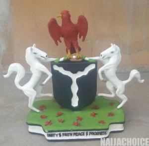 Lawmaker, Akin Alabi Rejects Coat Of Arms Made By An Artist That 'Looks Like Winch'