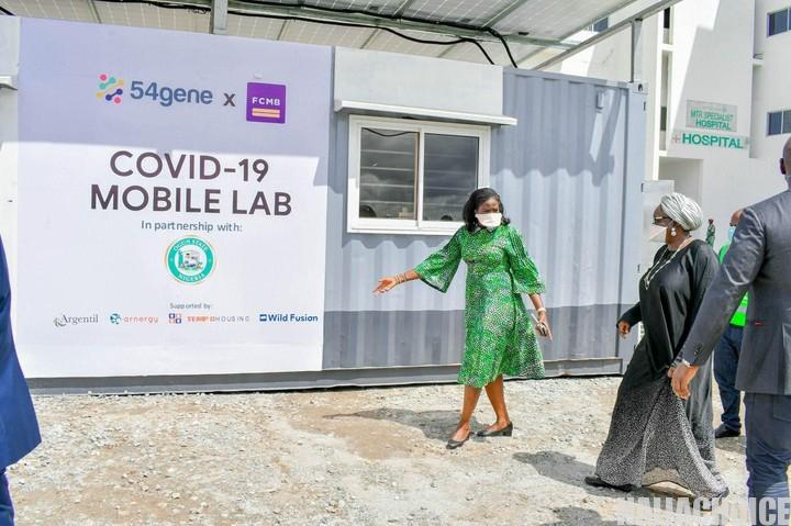 Ogun Launches COVID-19 Mobile Laboratory  (Photos)
