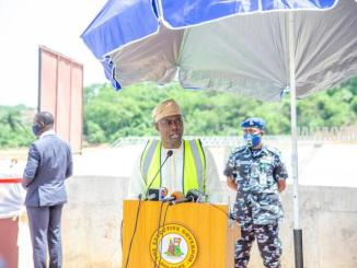 Governor Makinde Commissons The Eleyele Dam. Flags Off Iwo Road Interchange (Photos)