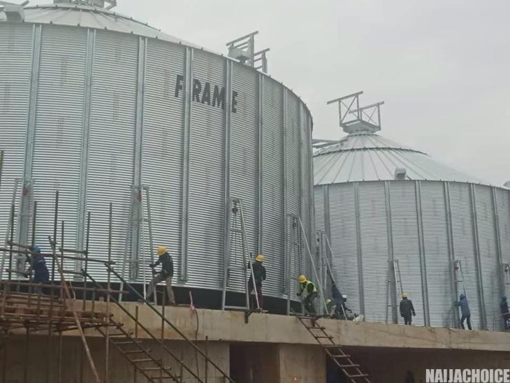 Imota Rice Mill, Lagos, Capable Of Producing 2.4 Million 50kg Bags Yearly (Photos)