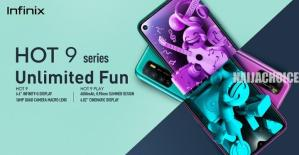 Infinix Hot 9 And Hot 9 Play Devices Introduced  Into Nigerian Market