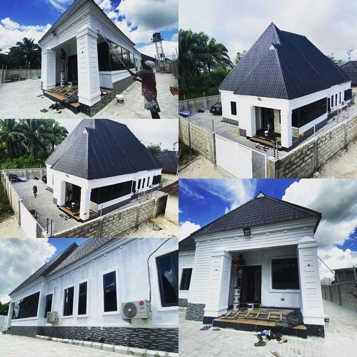 Rapper, Erigga Shares Pictures Of His New House