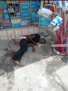 Armed Robber Killed In Port Harcourt (Graphic Photos)